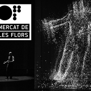 """""""Not a moment too soon"""" en el Mercat de les Flors"""