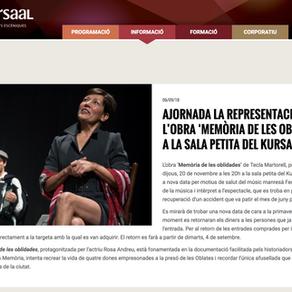 """Rosa Andreu, nueva presentación de """"Memoria de las olvidadas""""."""