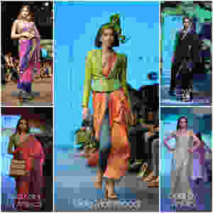 Trendsetting Sari at IRW