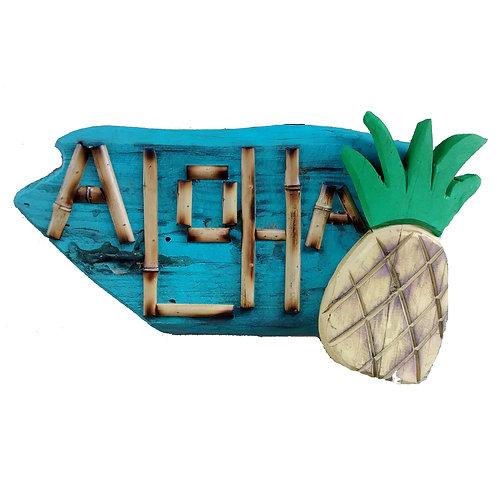Aloha-Wood Sign