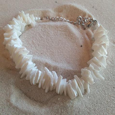 Shell anklet/bracelet
