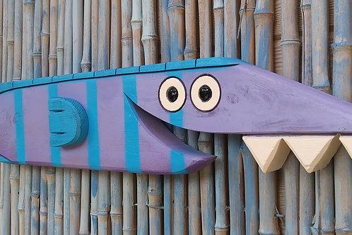 Sal the Fish Handmade in Florida Wall Art