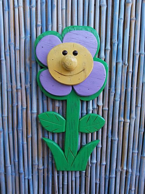 Patricia the Petunia Handmade in Florida  Wall Art