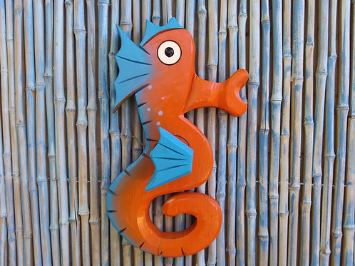 Sammy the Sea Horse Handmade in Florida Wall Art