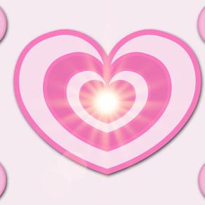 『愛と光のハート』