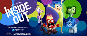 Inspiration - Family Movie Inside Out reminds us that feelings are important even if uncomfortable.