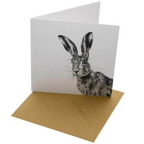 Blank Hare Card