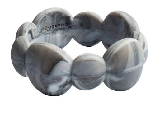 Jellystone Pebble Bangle
