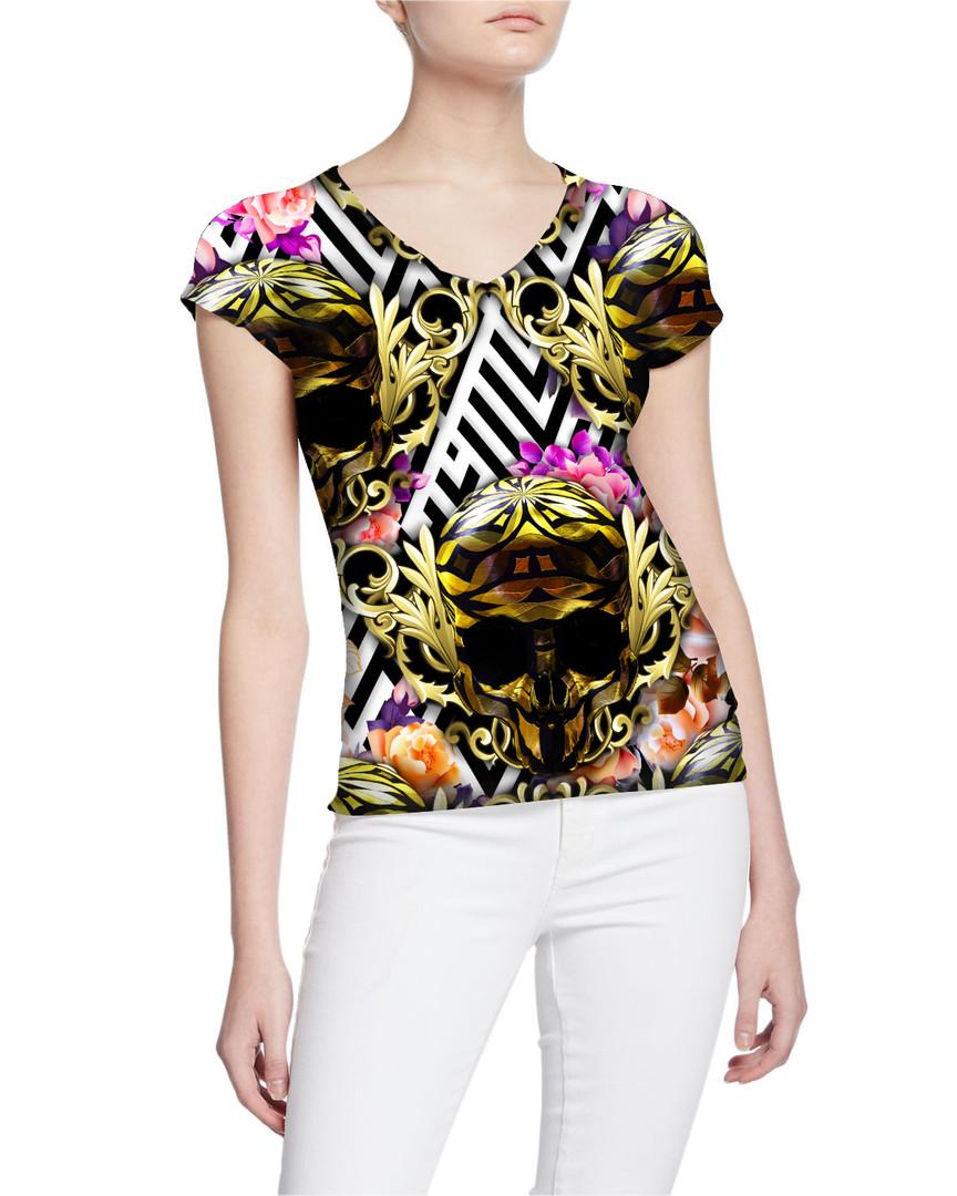 Ladies-V-Tshirt-Gorgeous-ExclusiveRoyalt