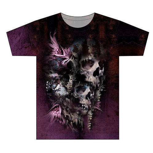Skull Hunters Twin Edition Tattoo Man T-shirt