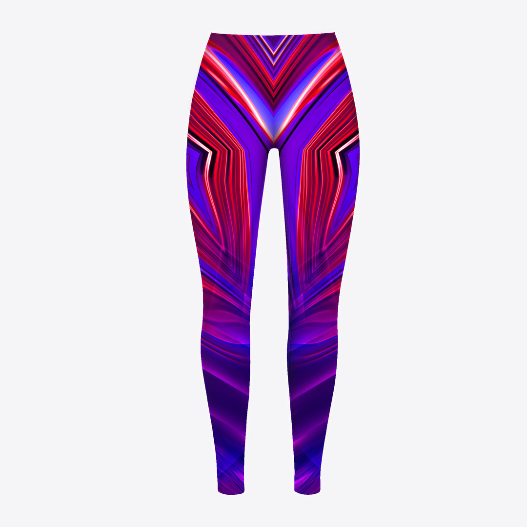 Rave-Rhomboid-On-Acid-Legging-WickedKult