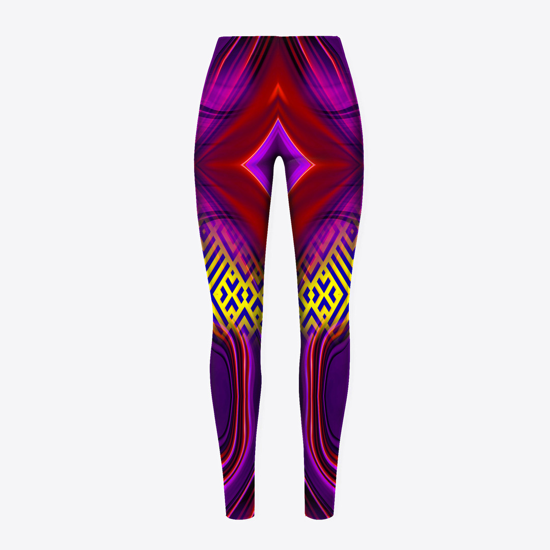 Gorgeous-Rhomboid-Space-Back-Leggings-Wi