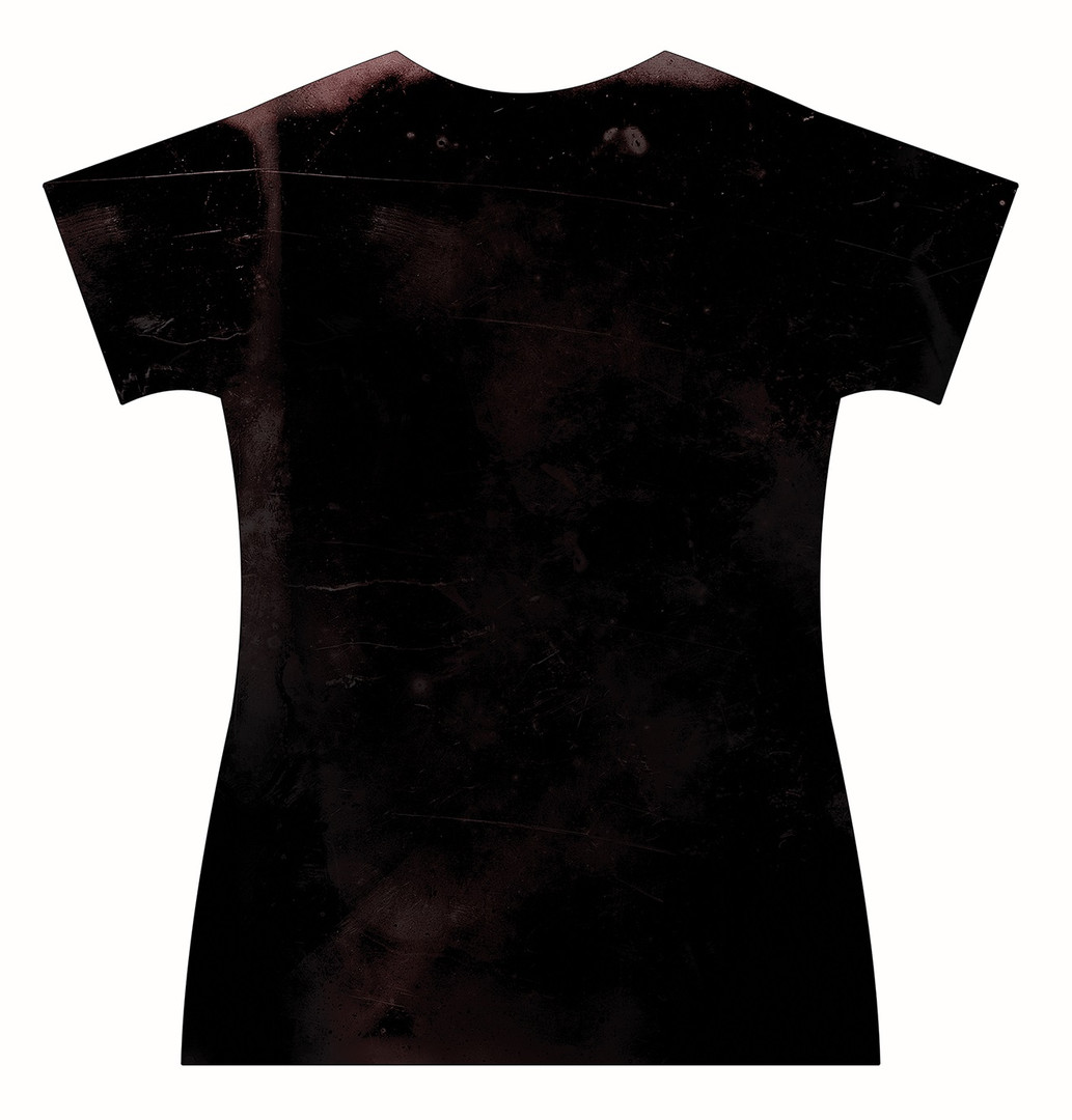 STORE-Ladies-V-neck-Stressed-DemonSkull-