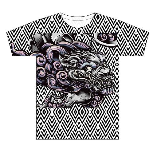 -Dragon and Diamonds Swank Man T-shirt