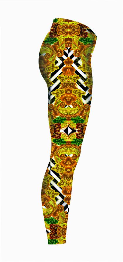 Royal-Fire-Vixen-Tattooed-right-Legging-