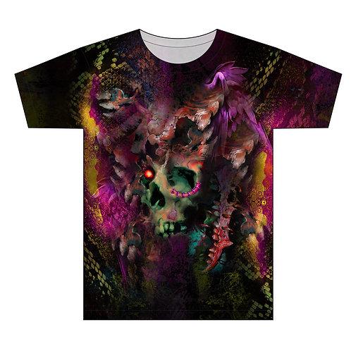 Unchained Pierced Skull Tattoo Man T-shirt