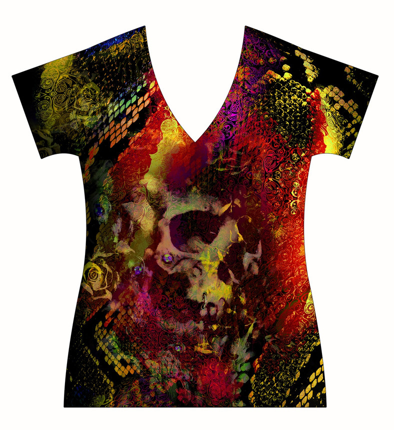 STORE-Ladies-V-neck-Exotic-Animalprint-a