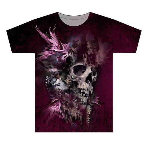 Skull Hunter Vintage Tattoo Man T-shirt