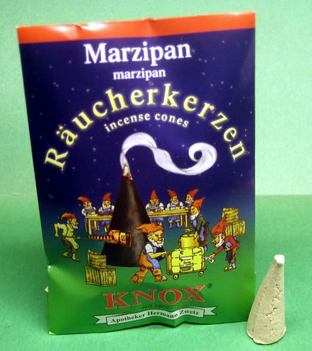"#014-330 - Famous KNOX Brand ""Marzipan"" Incense Cones - 5 pc Sample Packet"