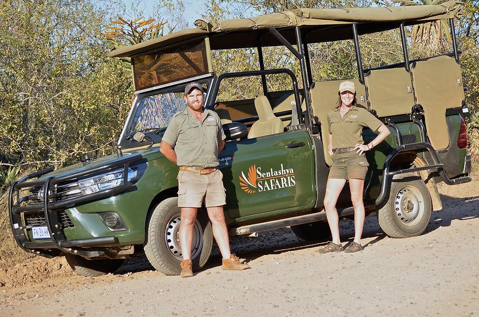 Open vehicle safari   Sentashya Safaris