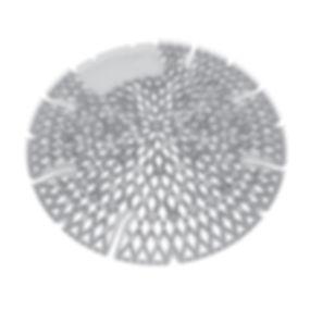 The Diamond 3D Urinal Screen