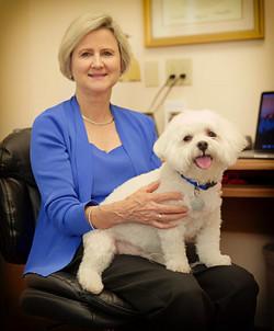 Dr Brenda Graham and Gabe