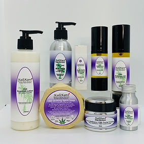 Photo of 8 CBD products