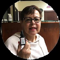image customer #12 holding thier favorite KaliKare product