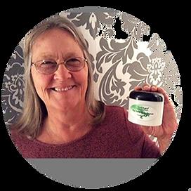 image customer #19 holding thier favorite KaliKare product