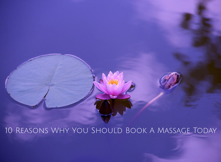 Top 10 Reasons To Get A Massage