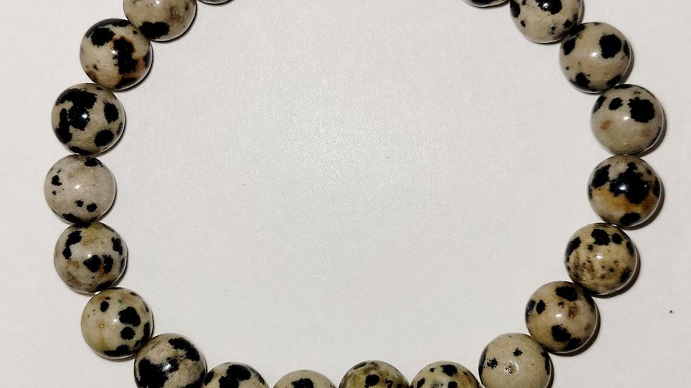 Dalmatian Jasper 8MM