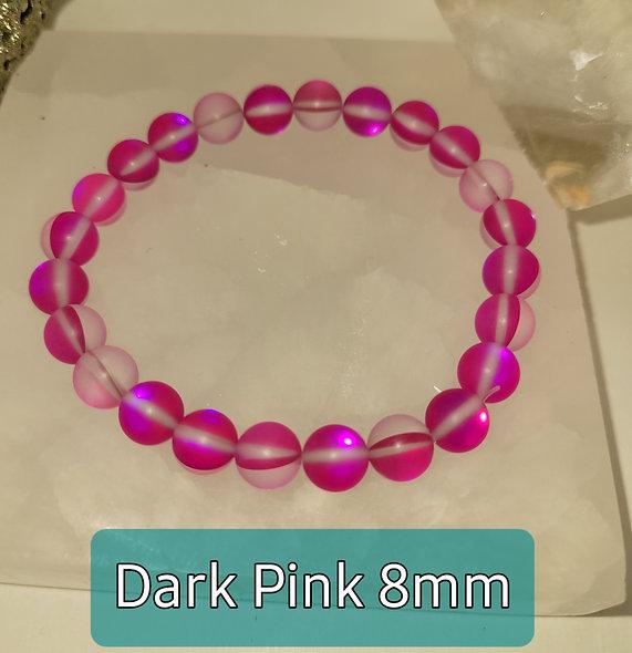 Dark Pink 8mm