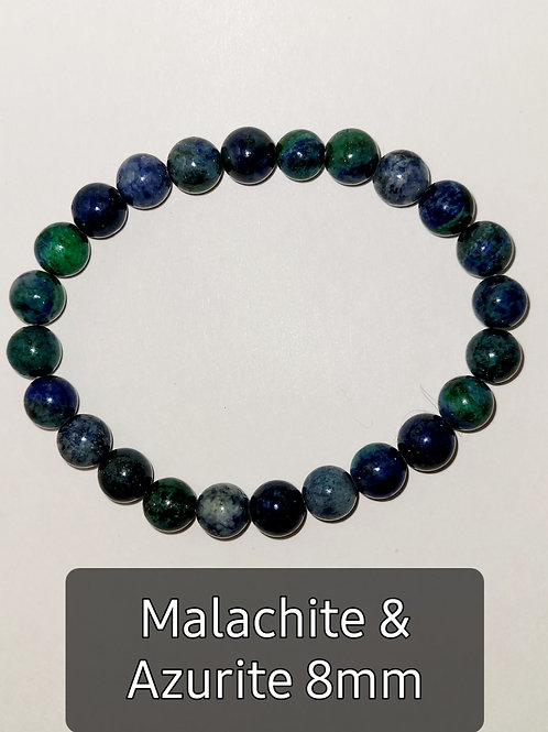 Malachite & Azurite 8MM