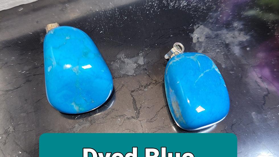 Dyed Blue Howlite