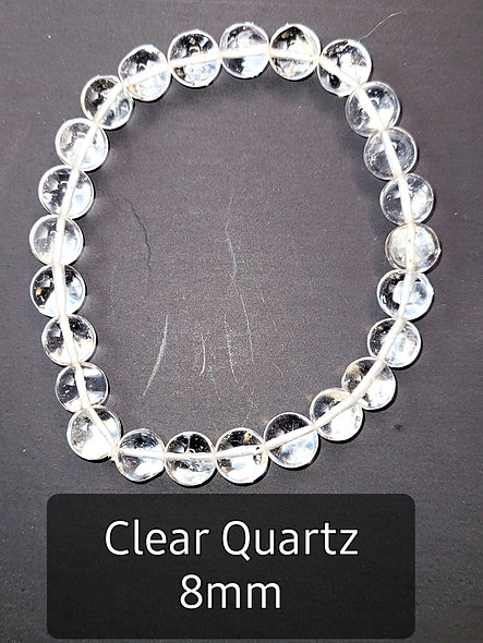 Clear Quartz 8MM