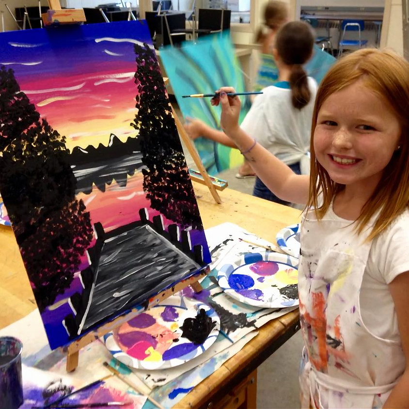 Kid's Summer Beginner's Paint Camp