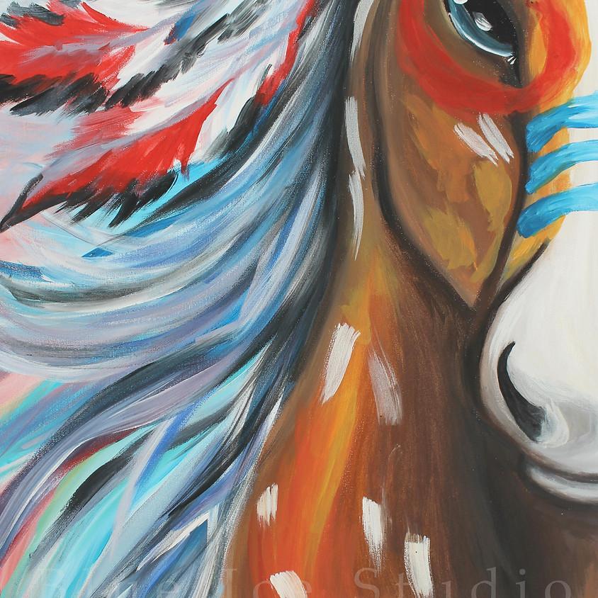 """Canvas Creations """"Spirit Dancer"""""""