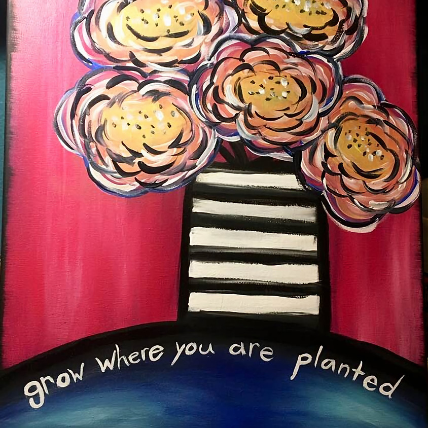 "Kid's Cookies & Canvas ""Grow"""