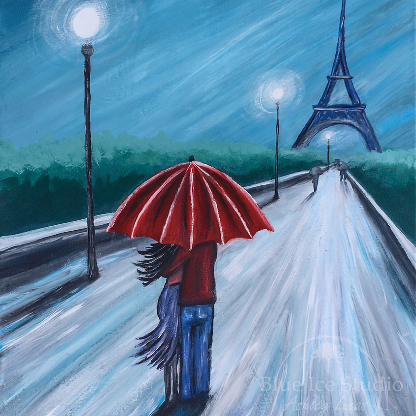 "Coffee & Canvas ""Paris in Love"""