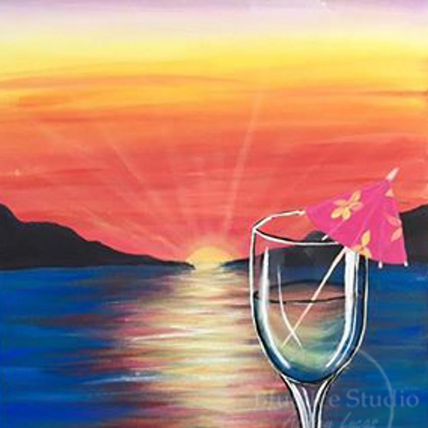 "Paint Night ""Tropical Sky"""