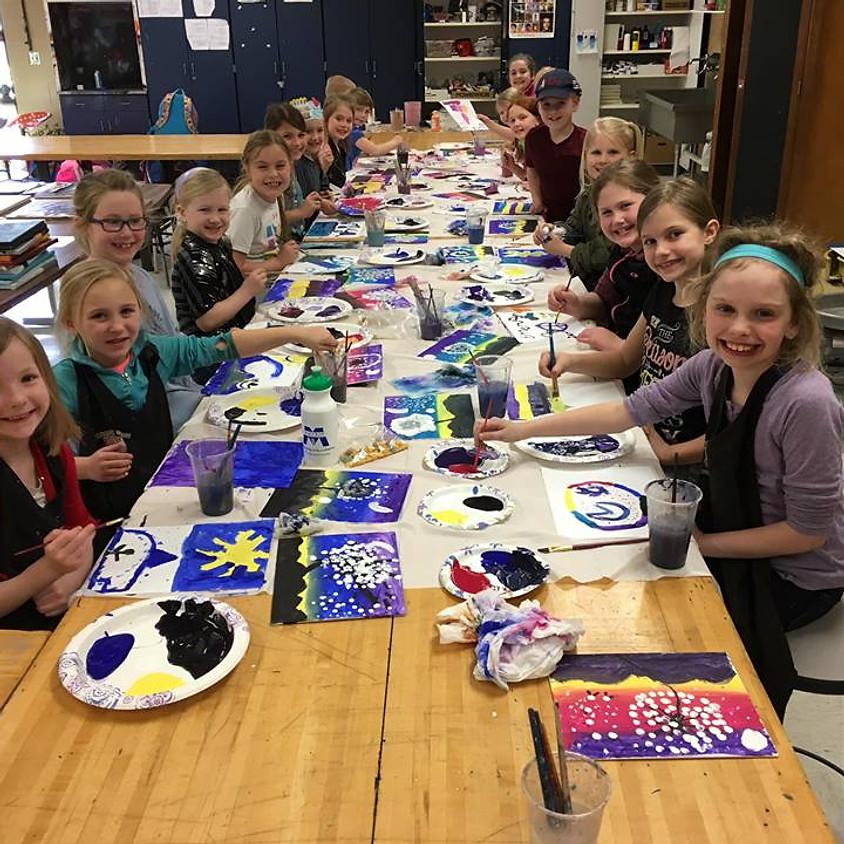 After School Art Club Maccray Gr. 3-6