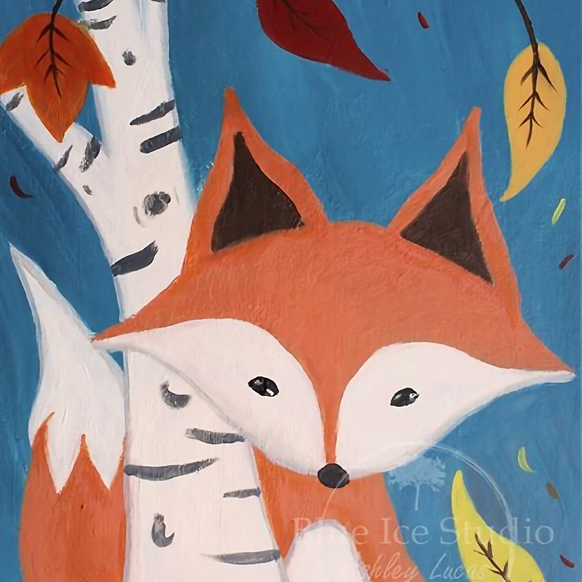 """Jessica W.'s Private Paint Party """"Foxy Fall"""""""