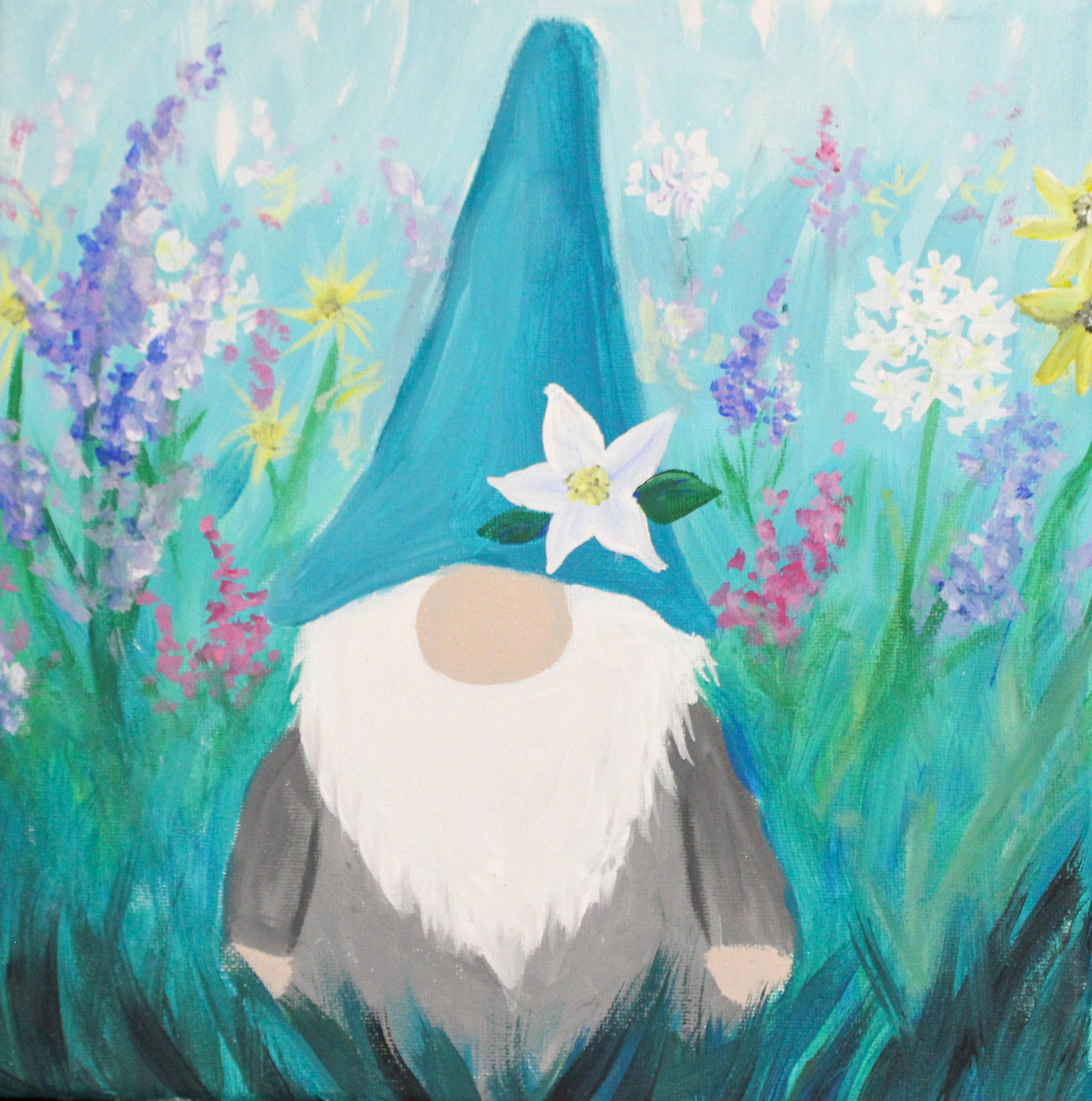 Garden Gnome Art Paintings