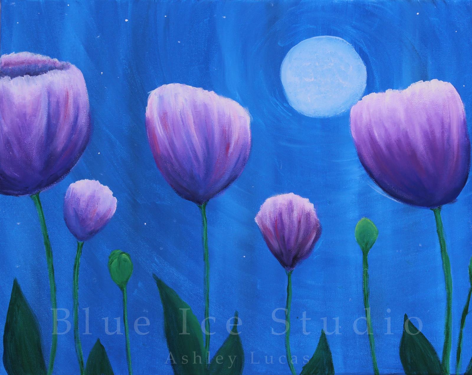Moon flowers izmirmasajfo