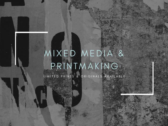Mixed Media and Prints Themed Presentati