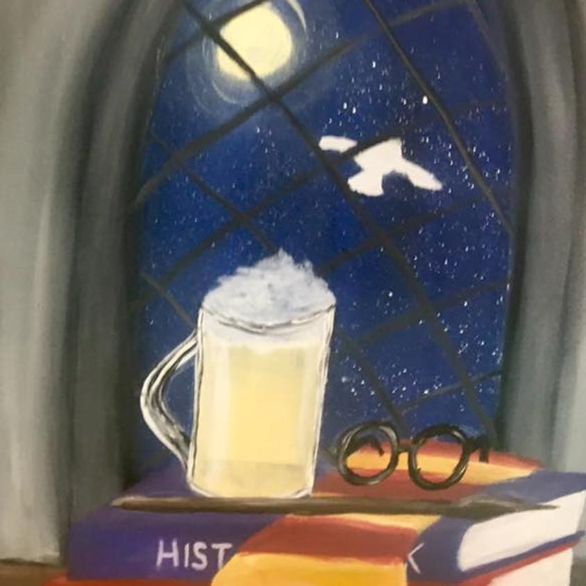 "Kid's Cookies & Canvas ""Hogwarts"""