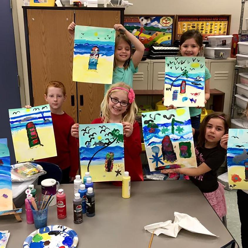 Kid's 4-Day Summer Art Camp Gr. 3-8