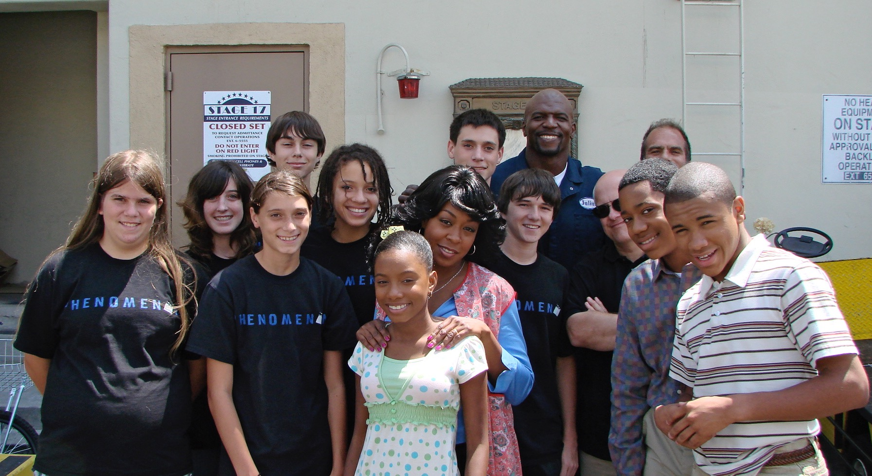 'Everybody Hates Chris' crew.