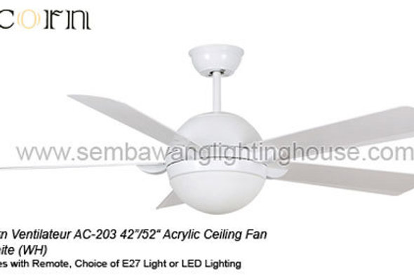 Acorn Ventilateur 203 42 52 Ceiling