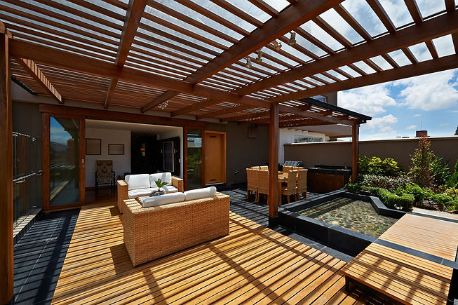 Interior design_ Beautiful terrace loung